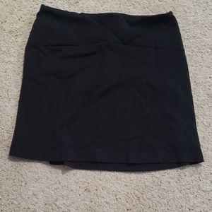 Elle black skirt, 12